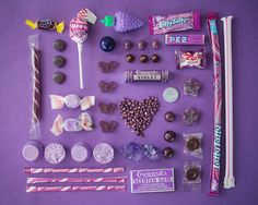 chaque bonbon a sa couleur