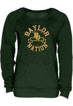 Product: Baylor University Nation Women's Burnout Crewneck Sweatshirt