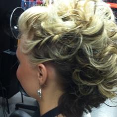 Curly Mohawk!