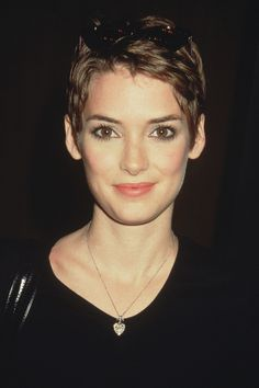 Winona Ryder Close-Cut Pixie  - MarieClaire.com