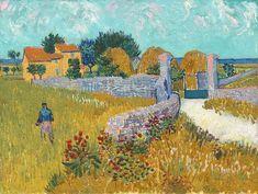 Farmhouse in Provence June 1888 Arles Painting by Vincent Van Gogh Van Gogh Museum, Städel Museum, Theo Van Gogh, National Gallery Of Art, Vincent Van Gogh Werke, Van Gogh Pinturas, Van Gogh Art, Van Gogh Paintings, Dutch Painters