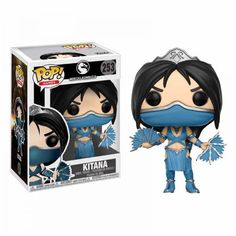 From Mortal combat, Kitana, as a stylized pop vinyl from Funko! the figure stands 3 inches and comes in a window display box. Check out the other Mortal combat figures from Funko! From Mortal combat, kitana, as a stylized pop vinyl from Funko! Pop Vinyl Figures, Funko Pop Figures, Kitana Mortal Kombat, Freddy Krueger, Paw Patrol, Geeks, Aliens, Liu Kang And Kitana, Otaku