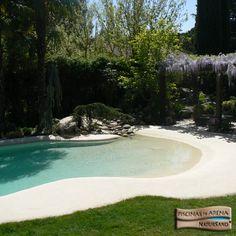 #Piscinas_de_Arena. Pool sand system building