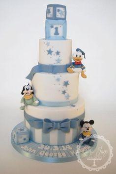 Tartas de cumpleaños - Birthday Cake - Baby Disney Christening