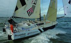 #minitransat #sailing #sail #sport #onthewater Global Weather, Sailboat Racing, Honfleur, Sailing Ships, Sailing Yachts, Le Havre, Dinghy, Boat Design, Boat Building