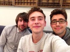 Mikey Goldsworth, Olly Alexander, and Emre Turkmen