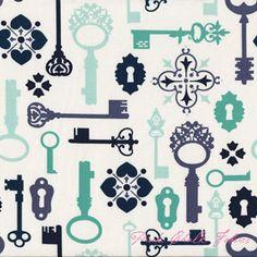 Sandi Henderson Secret Garden Lock and Key Mint
