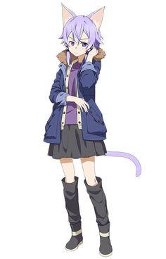 Best Price Anime Merchandise With FREE Worldwide Shipping! Anime Neko, Otaku Anime, Lolis Neko, Sinon Ggo, Kirito Asuna, Sword Art Online Asuna, Online Anime, Online Art, Asada Shino