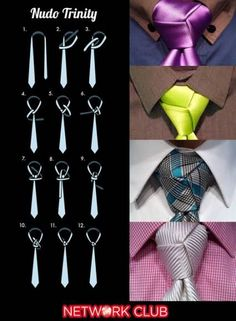 How To Tie A Tie Windsor Blanket Scarf Super Ideas Source by Cool Tie Knots, Cool Ties, Clothing Hacks, Mens Clothing Styles, Tie Knot Styles, Eldredge Knot, Tie A Necktie, Tie A Tie, Fashion Infographic