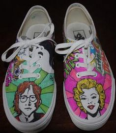 Make it Yourself: Painted Canvas Shoes | The Good WeeklyThe Good Weekly