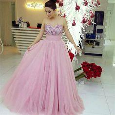 Charming Prom Dress,Elegant Prom Dress,Sexy Tulle Prom Dress,Long
