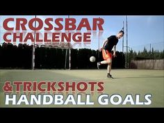 Crossbar challenge: Handball goals crossbars & trickshots. I had an opportunity to have mutlifunctional pitch with handball goals just for me so I used the situation and filmed some nice crossbars and trickshots. I tried shot the crossbar from close distance and then increasing the distance to the end of the pitch.   FB: https://www.facebook.com/crossbarchal...  TW: https://twitter.com/Crossbar10inrow PinIt: https://www.pinterest.com/crossbar10i... Subscribe…