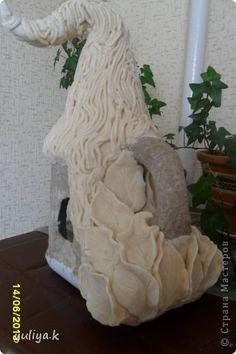 Поделка изделие Лепка соленый домик Тесто соленое фото 4
