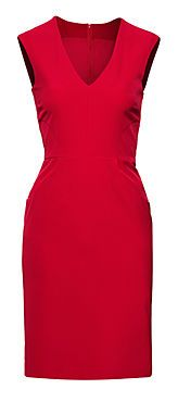 Sarah's Red Kelly Dress, available now at H #FashionStar
