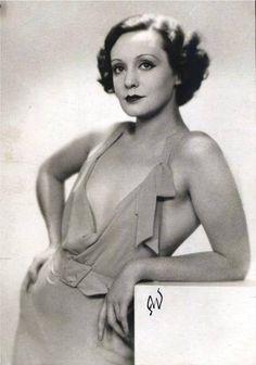 Zarah Leander (born Sara Stina Hedberg, 1907 - 1981)