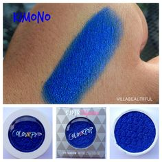 Review/Swatches Colour Pop Cosmetics Super Shock Shadow