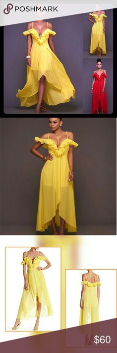 Edan off shoulder maxi dress