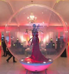 Make the entertainment at your next corporate event a dramatic feature