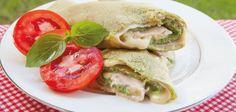 Eu amo panqueca e já passei pra vocês várias receitinhas AQUI no blog. E hoje fiz uma combinação explosivamente deliciosa! A massa de panqueca verde sem farinha tem como base ovos e espinafre, e na verdade é uma omelete bem…