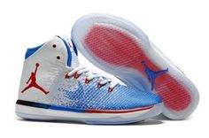 save off bf0a6 e6a38 Original Air Jordan 31  Olympic  White University Red-Deep Royal Blue -  Mysecretshoes