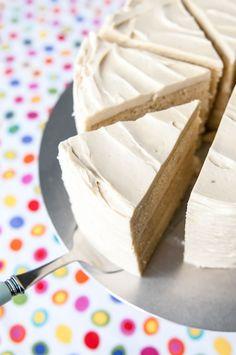 vanilla malted milk cake