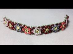 Video: Garden Of Love Bracelet (PART 1 or 3) ~ Seed Bead Tutorials