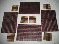 bamboo placemats, bamboo trivets & bamboo coasters