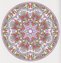 Magical Mandalas 019 done with alcohol markers and pencils for shadows Adult Coloring, Coloring Pages, Creative Haven Coloring Books, Celtic Crosses, Alcohol Markers, Johanna Basford, Art Therapy, Fractals, Zentangle