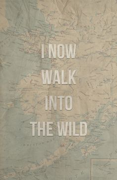 I now walk into the wild Art Print
