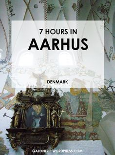 If you only have less than 24 hours to explore the city, what would you do and how to spend quality time in such a short time? I didn't have the luxurious 24 hours in Aarhus, Denmark, but I had a great time despite that. Let me show you how I did that and what to visit!
