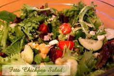 Feta Chickpea Salad  http://www.momspantrykitchen.com/feta-chickpea-salad.html