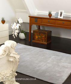 Aran Sand Rug, a luxury handmade plain wool (60%) & viscose (40%) carpet http://www.therugswarehouse.co.uk/modern-rugs3/aran-rugs/aran-sand-rug.html #rugs #interiors