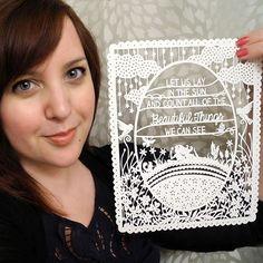 & Other Animals: Sarah Trumbauer, Paper-Cut Artist.