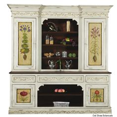 Custom kitchen cabinets and high end custom furniture. French style hutch, carved, high end furniture