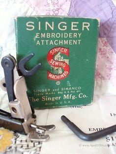 Single Thread Embroidery Attachment #26538