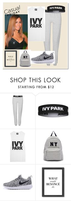 """""""Casual FRIDAY"""" by tamarabeautyx ❤ liked on Polyvore featuring Topshop, Ivy Park, Joshua's and Americanflat"""