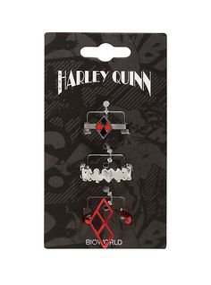 DC Comics Harley Quinn Ring Set,