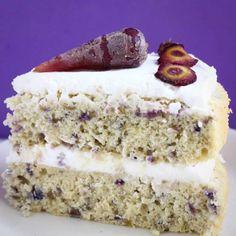 Gluten-Free Vegan Purple Carrot Cake