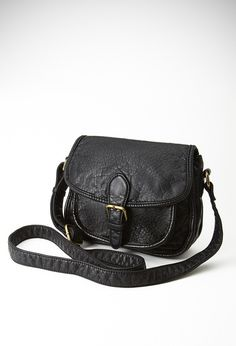 FOREVER 21 Faux Leather Crossbody Bag
