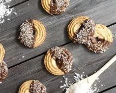 Sablés au chocolat et noix de coco Ingrédients