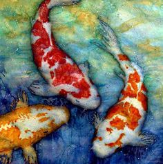 Koi Fish. I'm obsessed with getting a watercolor tattoo