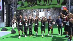El chalequeo de la selección alemana