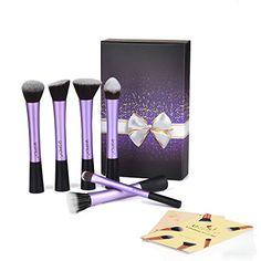 USpicy® 6-Piece Makeup Brushes, Professional Cosmetics Make up Brush Set with Gift Box, Makeup Kits (Purple) USpicy http://www.amazon.co.uk/dp/B00KWS44JS/ref=cm_sw_r_pi_dp_KxTTub0QFZ6QS