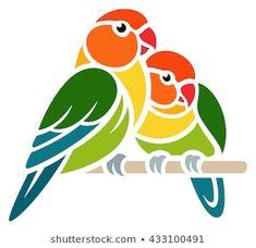 Stencil Art, Stencil Designs, Stencils, Pencil Art Drawings, Art Drawings Sketches, Bird Silhouette Art, Saree Painting Designs, Bird Template, Geometric Drawing