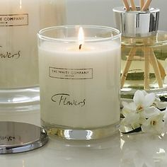 Flowers Signature Candle - Candles | The White Company
