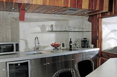 Hotel Lautner is comprised of four luxurious units complete with kitchenette and private patio.