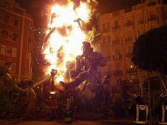 Las Fallas Festival  Valencia, Spain