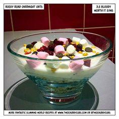 rocky road overnight oats - great blog & recipes