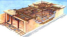 mycenae megaron