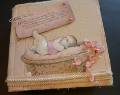 baby girls mini album canvas corp sugar and spice mix and match pad